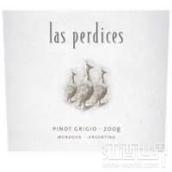 山鹑酒庄灰皮诺干白葡萄酒(Las Perdices Pinot Grigio,Agrelo,Argentina)