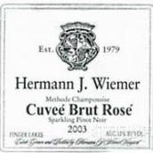 赫尔曼特酿桃红葡萄酒(Hermann J.Wiemer Cuvee Brut Rose,Finger Lakes,USA)