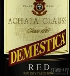 Achaia Clauss Demestica Red,Peloponnese,Greece