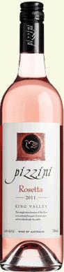 皮兹尼桃红葡萄酒(Pizzini Rosetta,King Valley,Australia)