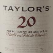 泰勒20年茶色波特酒(Taylor's 20 Year Old Tawny Port, Douro, Portugal)