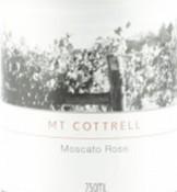 惠奇曼科奇乐山桃红葡萄酒(Witchmount Mt Cottrell Moscato Rose,Victoria,Australia)