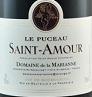 玛利安纳酒庄普索圣-阿穆尔村玉女干红葡萄酒(Domaine de la Marianne Le Puceau Saint-Amour,Beaujolais,...)