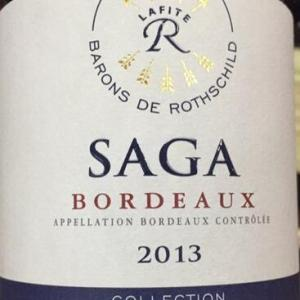 拉菲传说波尔多干红葡萄酒(Barons de Rothschild Collection(Lafite)Saga Rouge,Bordeaux,...)