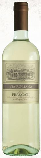 卡斯特拉尼罗马干白葡萄酒(Castellani Via Romana,Frascati DOC,Italy)