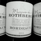 罗斯伯格侯爵干红葡萄酒(Marquis de Rothberg,Bordeaux,France)