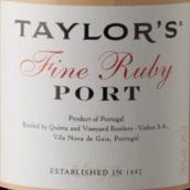 泰勒优质宝石红波特酒(Taylor's Fine Ruby Port, Douro, Portugal)