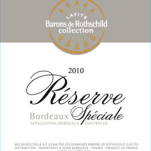 拉菲珍藏波尔多干白葡萄酒(Barons de Rothschild Collection(Lafite)Reserve Blanc,...)