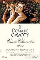 Domaine Gavoty Cotes de Provence Cuvee Clarendon Rose,...