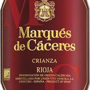 卡塞里侯爵陈酿干红葡萄酒(Marques de Caceres Crianza, Rioja DOCa, Spain)
