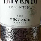 风之语珍藏黑皮诺干红葡萄酒(Trivento Reserve Pinot Noir,Mendoza,Argentina)