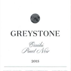灰石酒庄奥米希黑皮诺红葡萄酒(Greystone Omihi Pinot Noir, Waipara, New Zealand)