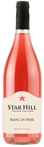 星山黑中白桃红葡萄酒(Star Hill Wines Blanc de Noir,Tradouw Highlands,South Africa)