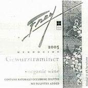 弗雷有机琼瑶浆白葡萄酒(Frey Vineyards Organic Gewurztraminer,Redwood Valley,USA)