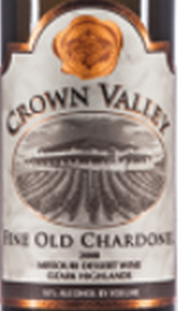 冠谷酒庄陈酿沙尔多内波特风格加强酒(Crown Valley Winery Fine Old Chardonel,Missouri,USA)