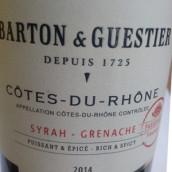 巴顿嘉斯蒂帕斯博特西拉-歌海娜混酿干红葡萄酒(Barton&Guestier Passeport Syrah-Grenache,Bordeaux,France)