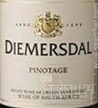 黛眉斯多酒庄皮诺塔吉干红葡萄酒(Diemersdal Pinotage,Durbanville,South Africa)