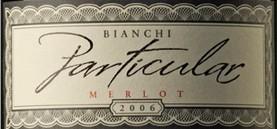 白房子特别系列梅洛干红葡萄酒(Casa Bianchi Paticular Merlot,Mendoza,Argentina)