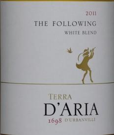 达里亚追随者维欧尼-赛美蓉干白葡萄酒(D'Aria The Following Viognier-Semillon,Durbanville,South ...)