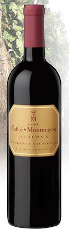 法布尔蒙特美耀珍藏赤霞珠干红葡萄酒(Fabre Montmayou Reserva Cabernet Sauvignon,Mendoza,Argentina)