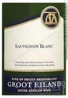格露艾兰长相思干白葡萄酒(Groot Eiland Sauvignon Blanc, Breedekloof, South Africa)