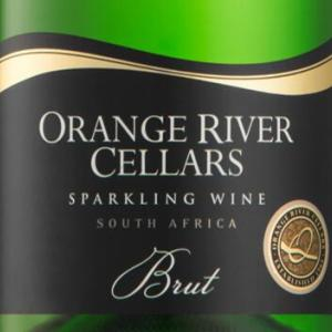 奥兰治河酒庄干型起泡酒(Orange River Cellars Sparkling Brut,Orange River,South ...)