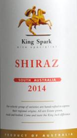 杰克王酒庄斯巴王西拉干红葡萄酒(南澳)(King Jack Winery King Spark Shiraz, South Australia, Australia)