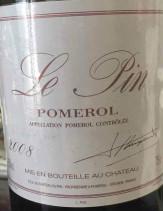里鹏酒庄红葡萄酒(Le Pin, Pomerol, France)