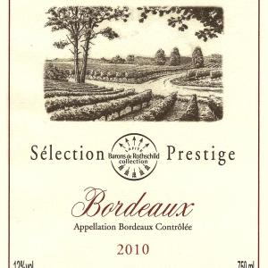 拉菲珍藏尚品干白葡萄酒(Barons de Rothschild Collection(Lafite)Selection Prestige ...)