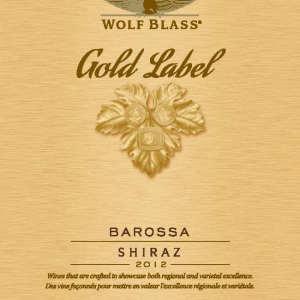 禾富金牌西拉干红葡萄酒(Wolf Blass Gold Label Shiraz,Barossa Valley,Australia)