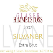 格拉泽西万尼极干型起泡葡萄酒(Weingut Glaser Himmelstoss Silvaner Extra Brut,Franken,...)