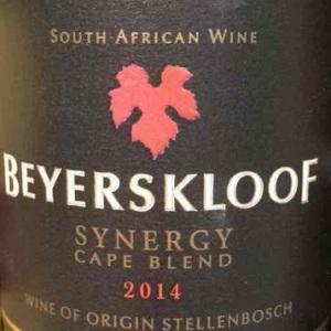 巴尔斯克鲁夫新勒瑞混酿干白葡萄酒(Beyerskloof Synergy Cape Blend,Stellenbosch,South Africa)