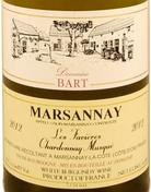 巴尔特酒庄法维耶园霞多丽白麝香白葡萄酒(Domaine Bart Les Favieres Chardonnay Musque,Marsannay,France)