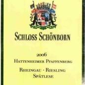 勋彭发芳山园雷司令迟摘干白葡萄酒(Schloss Schonborn Hattenheimer Pfaffenberg Riesling Spatlese Trocken, Rheingau, Germany)