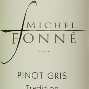 福纳传统灰皮诺干白葡萄酒(Michel Fonne Tradition Pinot Gris,Alsace,France)