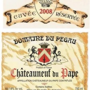 佩高珍藏特酿干红葡萄酒(Domaine du Pegau Cuvee Reservee Rouge,Chateauneuf du Pape,...)