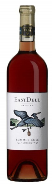 钻石伊斯戴尔桃红葡萄酒(Diamond Estates EastDell Rose,Canada,Okanagan Valley,Canada)