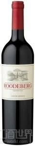 KWV路德伯格波尔多西拉混酿干红葡萄酒(KWV Roodeberg Bordeaux Blend-Syrah,Western Cape,South Africa)