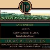 卢卡斯乐文迟摘长相思干白葡萄酒(Lucas&Lewellen Vineyards Late Harvest Sauvignon Blanc,Santa ...)