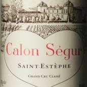 凯隆世家庄园红葡萄酒(Chateau Calon-Segur, Saint-Estephe, France)