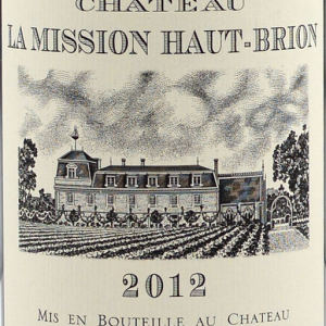 美讯酒庄红葡萄酒(Chateau La Mission Haut-Brion,Pessac-Leognan,France)