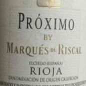 瑞格尔侯爵普罗西莫干红葡萄酒(Marques de Riscal Proximo,Rioja DOCa,Spain)