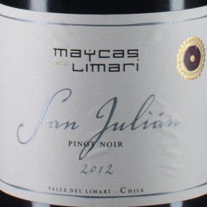 麦卡斯圣胡安黑皮诺红葡萄酒(Maycas del Limari San Julian Pinot Noir, Limari Valley, Chile)