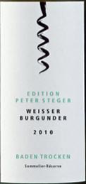 巴登酒庄巴登彼特斯蒂格灰皮诺干型桃红葡萄酒(Badischer Winzerkeller Weiber Burgunder Edition Peter Steger...)