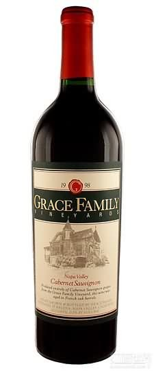 葛利斯家族赤霞珠干红葡萄酒(Grace Family Vineyards Cabernet Sauvignon,Napa Valley,USA)