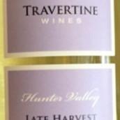 石灰华迟摘华帝露干白葡萄酒(Travertine Late Harvest Verdelho,Pokolbin,Australia)