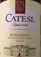 卡特索干红葡萄酒(Catesl,Bordeaux,France)