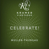 克雷默酒庄欢庆米勒-图高起泡葡萄酒(Kramer Vineyards Celebrate Muller-Thurgau Sparkling, Yamhill-Carlton District, U.S.A.)