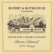 鲁珀特罗斯柴尔德酒庄男爵艾德蒙混酿干红葡萄酒(Rupert&Rothschild Vignerons Baron Edmond,Franschhoek Valley,...)
