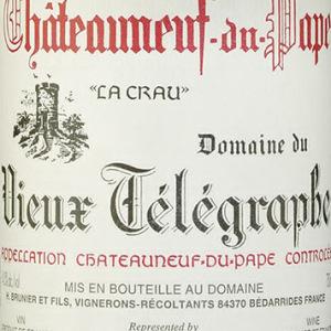 老电报克罗干红葡萄酒(Domaine du Vieux Telegraphe La Crau,Chateauneuf-du-Pape,...)